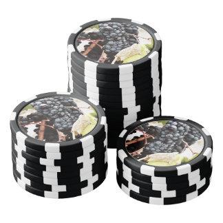 Grape tree poker chips