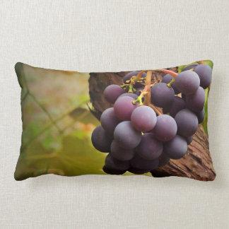 Grape vine accent pillow