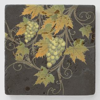 Grape Vine Stone Coaster