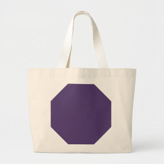 Grape Violet Background. Chic Fashion Color Trend Tote Bags