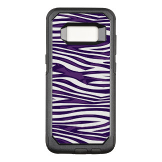 Grape Zebra Abstract OtterBox Commuter Samsung Galaxy S8 Case