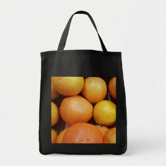 Grapefruit Grocery Tote Bag