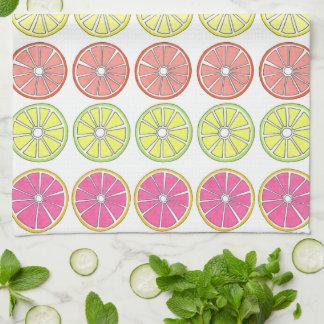 Grapefruit Lemon Lime Orange Citrus Fruit Towel
