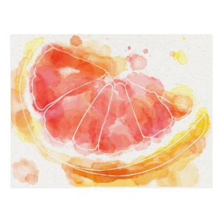 Grapefruit Postcard