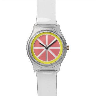 Grapefruit Slice May28th Wristwatch