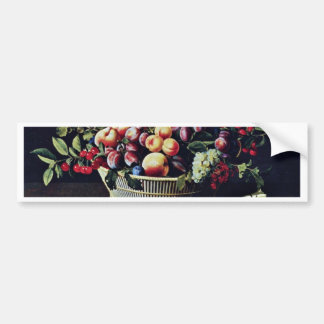 Grapes, Apples And Melons By Moillon Louise (Best Bumper Stickers