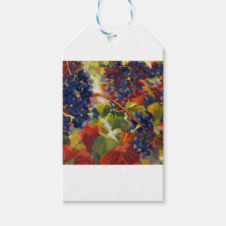 Grapes Art Gift Tags