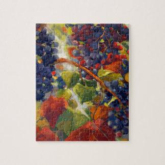 Grapes Art Jigsaw Puzzle