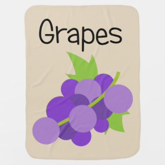 Grapes Baby Blanket