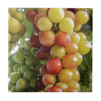 Grapes Ceramic Tile