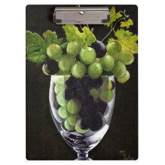 Grapes in a Glass Clipboard