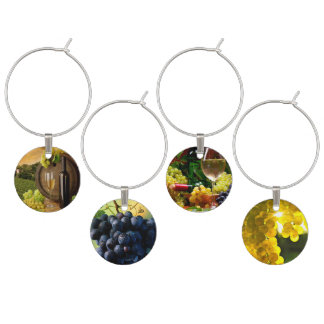 grapes into wine wine charm
