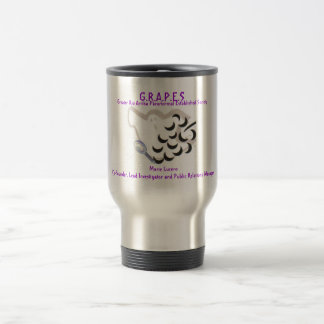 GRAPES Logo, G.R.A.P.E.S , Greater Rio Arriba P... Travel Mug