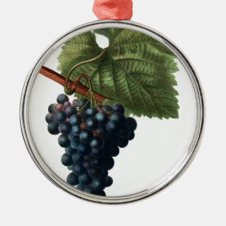 Grapes Metal Ornament