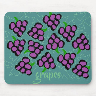 grapes mouse pad