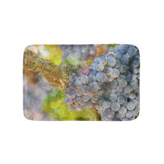 Grapes on Vine Bath Mats