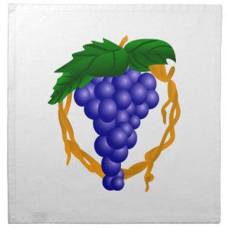 Grapes On Vine Cloth Napkins
