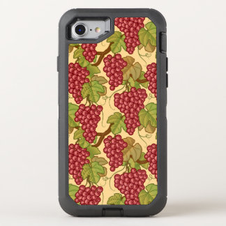 Grapes OtterBox Defender iPhone 7 Case
