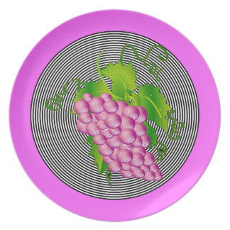 Grapes Party Plate