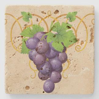Grapes Stone Coaster