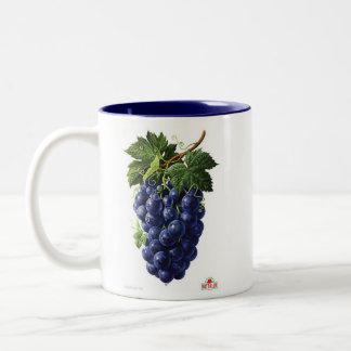 grapes Two-Tone coffee mug