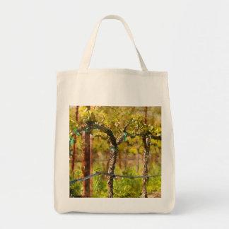 Grapes Vines in Spring Tote Bag