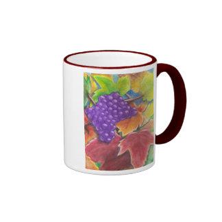 Grapes Watercolor Coffee Mug