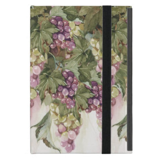 Grapevine Grapes on Fence iPad Mini Case