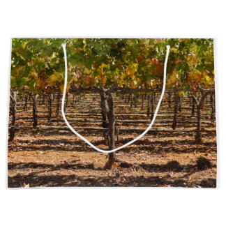 Grapevines in the Fall Large Gift Bag