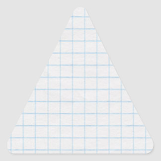 Graph Paper Triangle Stickers