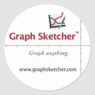 Graph Sketcher Sticker