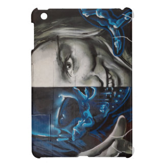 Graphic art face iPad mini cases