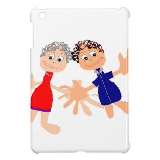 Graphic Art - Two Friends iPad Mini Cases