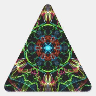 Graphic Beauty Triangle Sticker