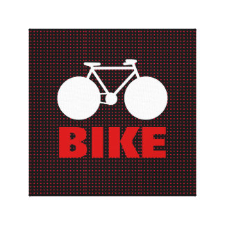 graphic bike decorative art gallery wrapped canvas