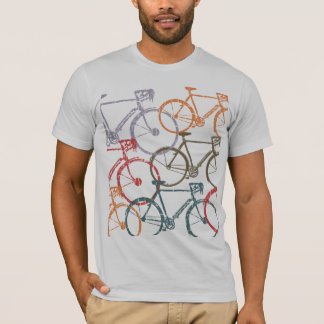 graphic bikes / bicycle cycling T-Shirt