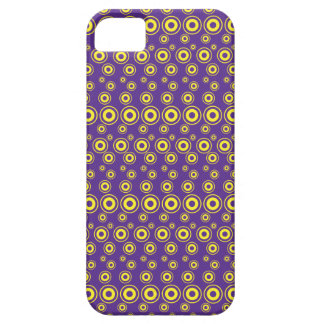 Graphic Bubble Dots | Yellow Barely There iPhone 5 Case