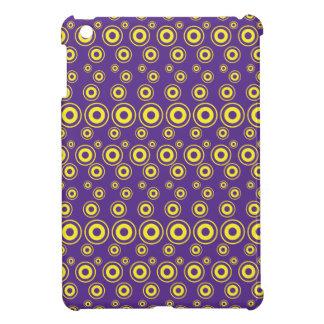 Graphic Bubble Dots | Yellow iPad Mini Case