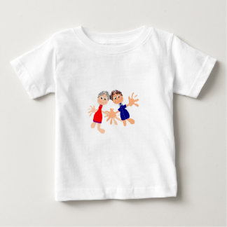 Graphic Charaters Template - Customise Text Baby T-Shirt