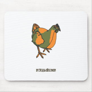 Graphic Chicken Mouse Pad