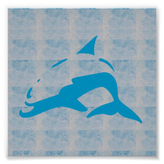 Graphic decorations Sea FISH SHARK WHALE SWIM DIVE Poster