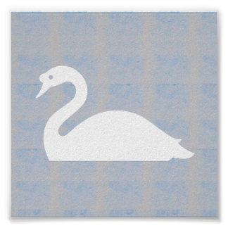 Graphic decorations  SHAPES birds fish animals Poster