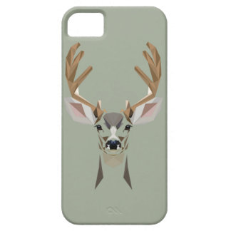 Graphic deer iPhone 5 covers