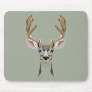 Graphic deer mouse pad