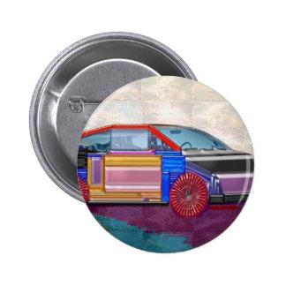 Graphic Design: Exotic Car 6 Cm Round Badge