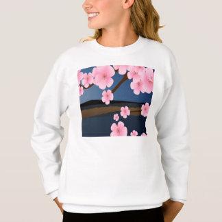Graphic Design of Cherry Blossom Sweatshirt