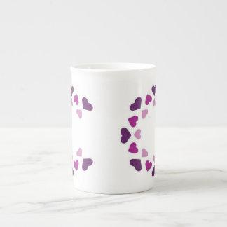 graphic design tea cup