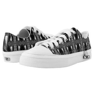 Graphic Design Tennis Shoes