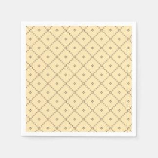 Graphic Design Yellow Pattern Disposable Napkin