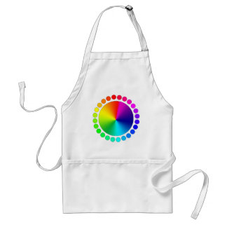 Graphic Designer Artist Color Wheel Standard Apron